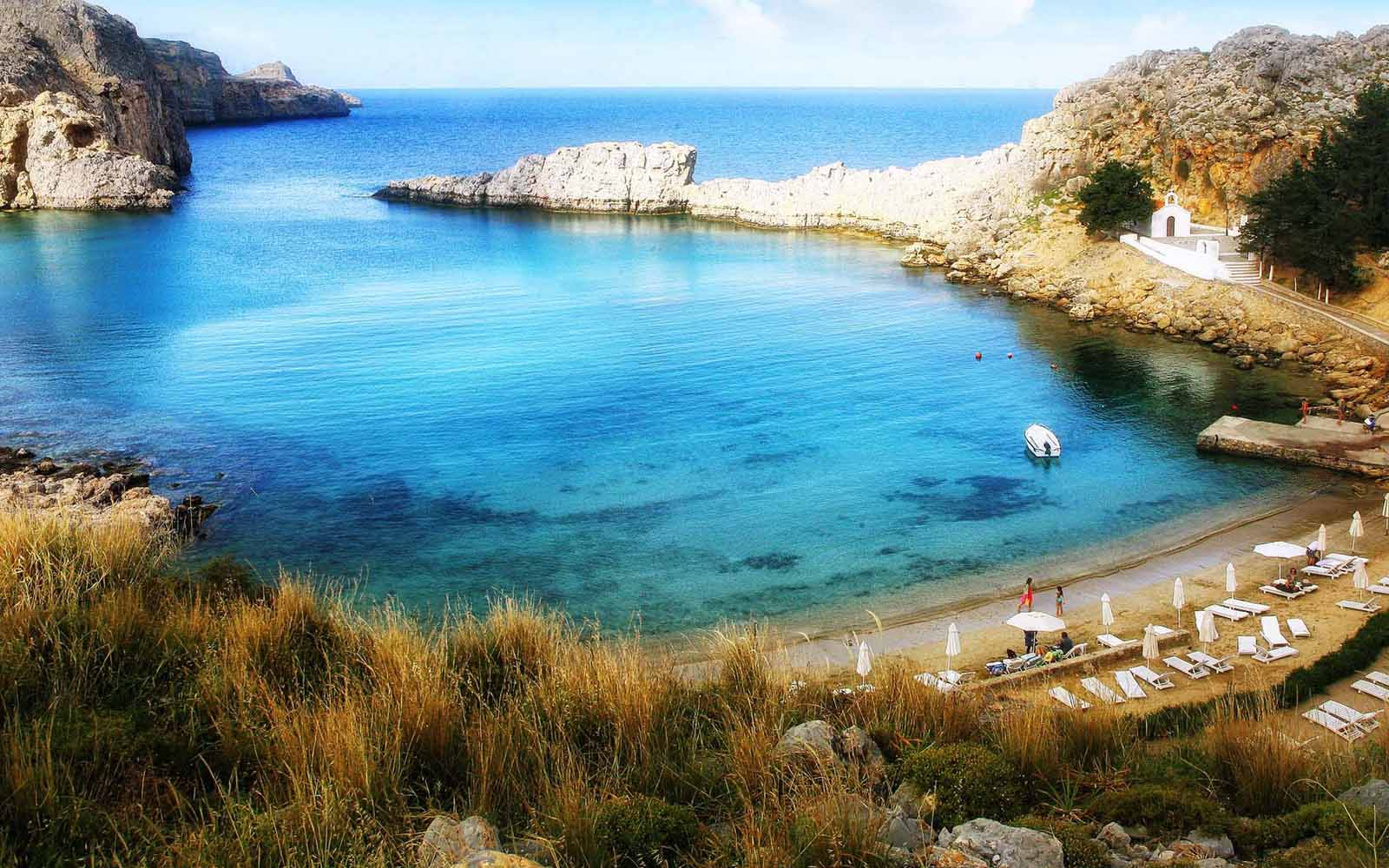 Lindos San Paul Beach